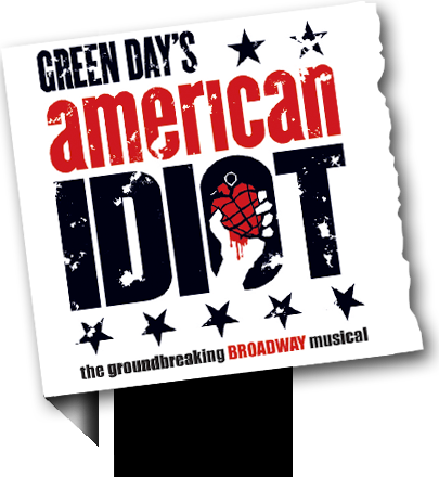 Poster for Green Day's American Idiot