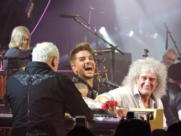 Rufus, Roger, Adam, Queen