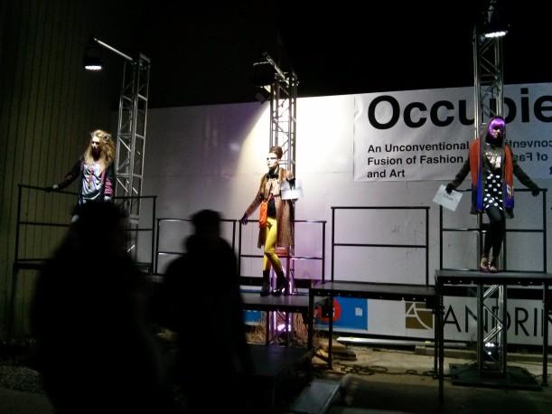 Gloss installation at Kitchener Nightshift