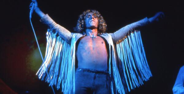 Roger Daltrey with fringe