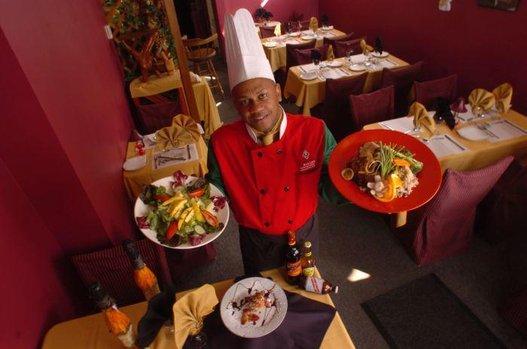Chef Elvis Ellison at his bistro