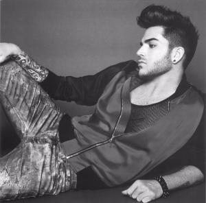 Adam Lambert posing