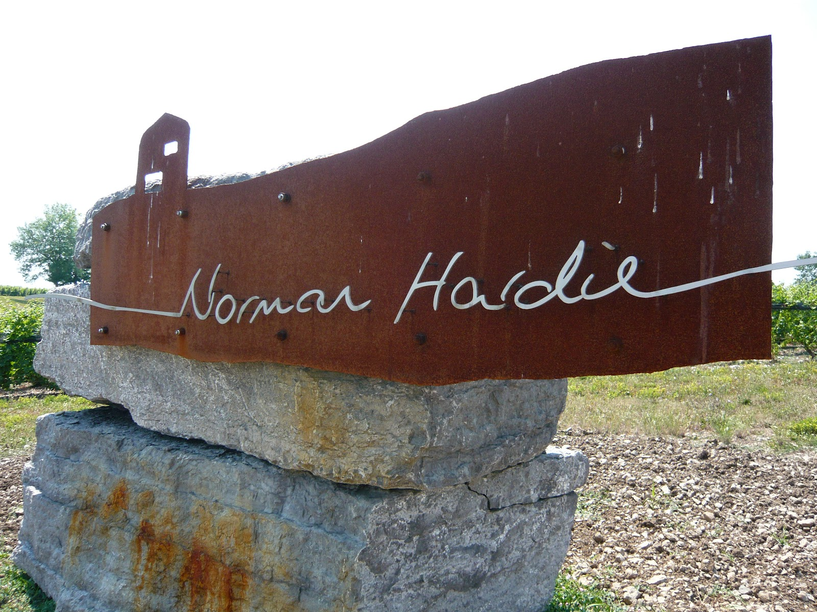 Norman Hardie sign